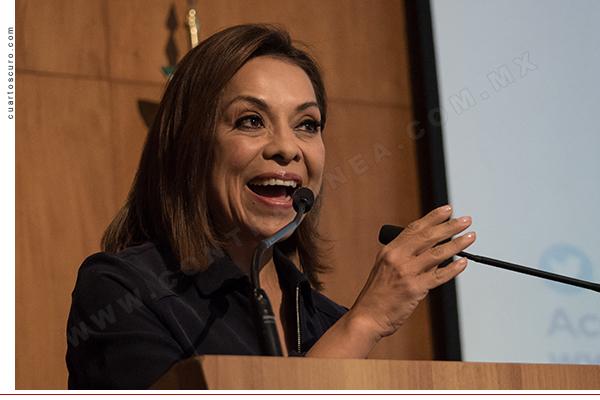 CIUDAD DE MÉXICO, 29ABRIL2017.- Josefina Vázquez Mota, candidata a la gubernatura del Estado de México, durante la Sesión del Consejo Nacional del Partido Acción Nacional. FOTO: TERCERO DÍAZ /CUARTOSCURO.COM