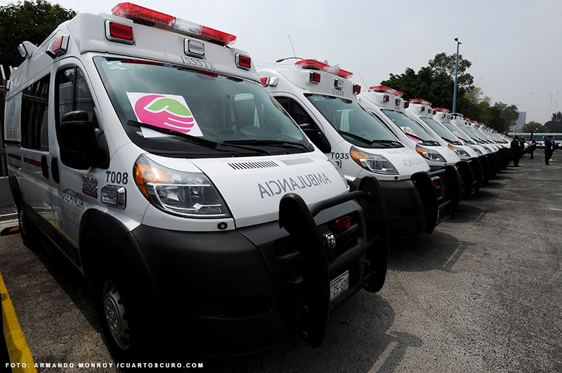 Extrav An Ambulancias En El Issste Oficio De